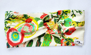 Floral Twist Bands (multiple prints) - Headband Happy AK