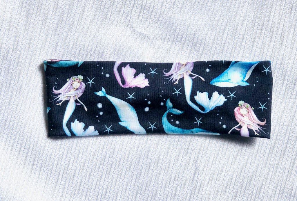 Mermaids and Whales - Headband Happy AK