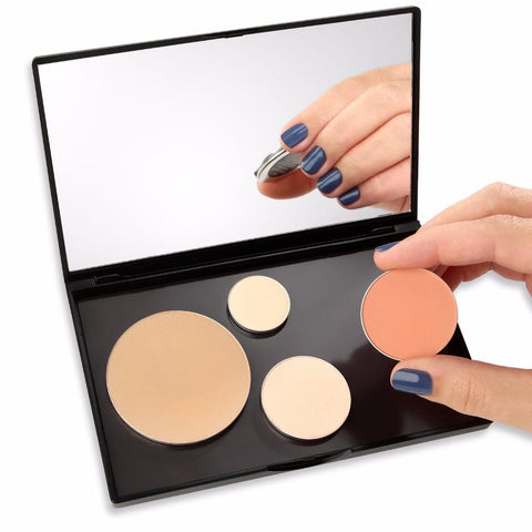 Magnetic Makeup Caddy: Customizable, Empty Magnetic Makeup Case Palette