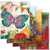 Garden Flags for Every Season - Artful (4-Flag Bundle)
