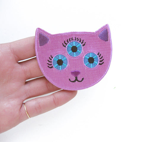 Pink Cat Patch
