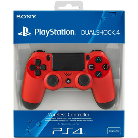 PS4 Dualshock 4 - Magma Red