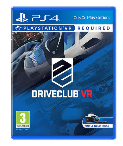 Driveclub VR - Playstation VR