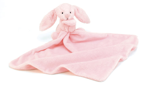 Bashful Bunny Soother Blanket - Pink