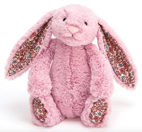 Blossom Bashful Tulip Pink Bunny - Small
