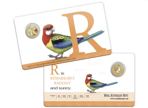 2015 Alphabet Collection $1 Coin Letter R