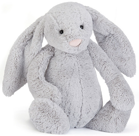 Bashful Silver Bunny - Really Big