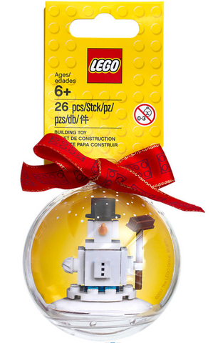 Holiday Ornament with Snowman 853670
