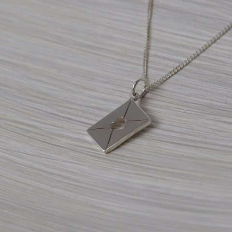 Letter Pendant on chain