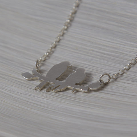 Birds on a Branch Necklace