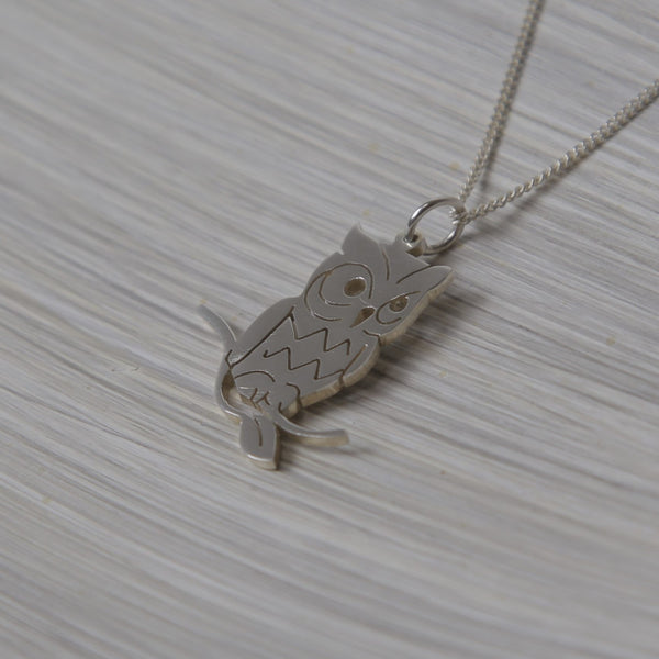 Owl Pendant on chain