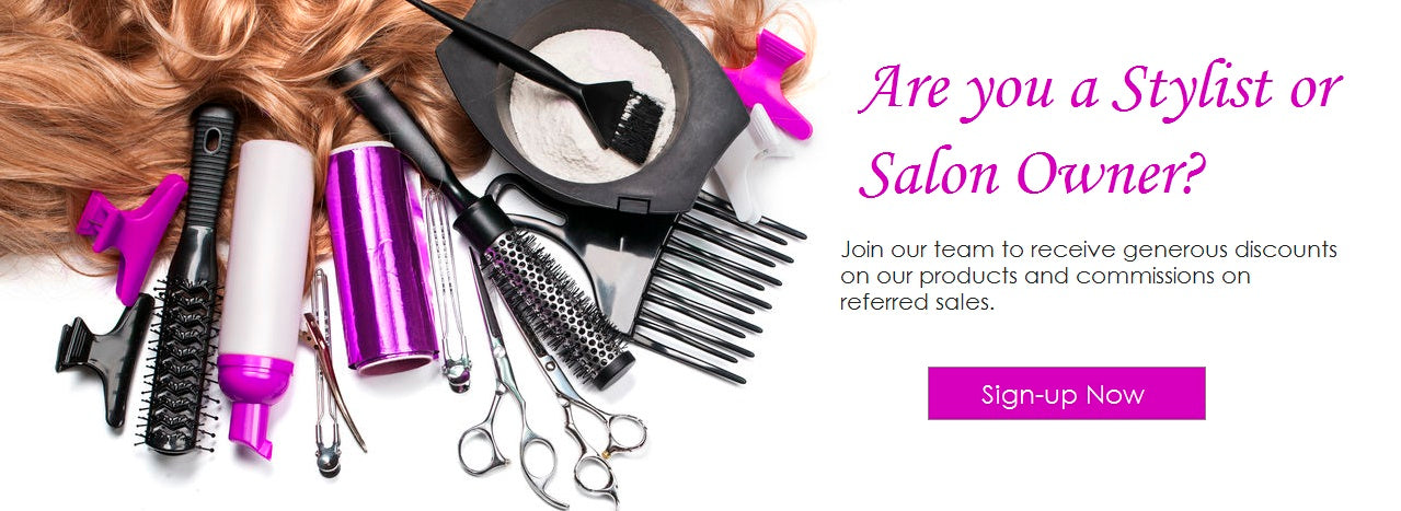 Become a Partner Stylist - VIP Extension Bar