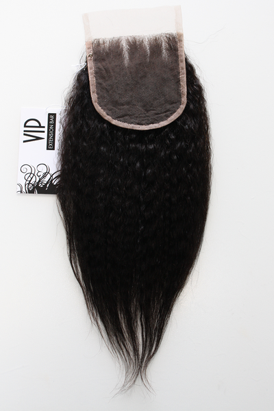 Brazilian Yaki Straight Lace Closure - back