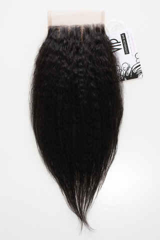 Brazilian Yaki Straight Lace Closure - Front