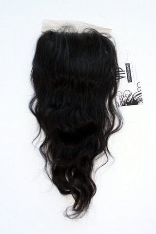 Brazilian Body Wave Silk Top Closure - Front