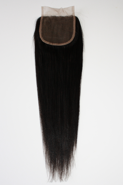 Malaysian Light Yaki Straight Lace Closure