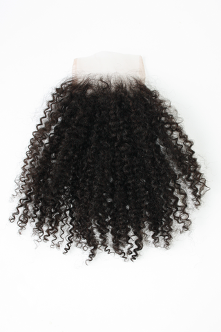 Kinky Curly Lace Closure - VIP