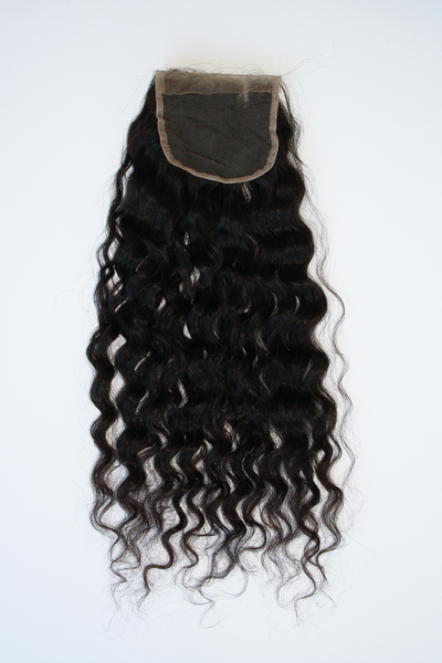 Brazilian Deep wave lace closure - vip back