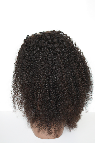 Indian Kinky Curly U-Part Wig