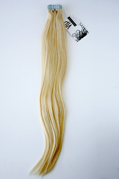 Indian Straight Clear Hair Tape in Blonde