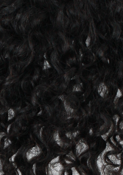 Mongolian Curly Lace Frontal Closure - texture