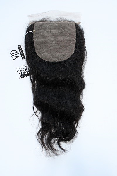 Brazilian Body Wave Silk Top Closure - Back