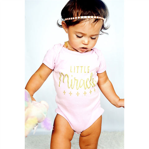 Little Miracle Onesie - Tink and Key - 1