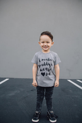I Make Daddy's Heart full tees/onesies