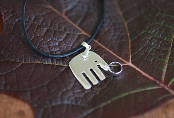 The Elefork Pendant | Upcycled, Recycled, Repurposed, Reimagined | Changing Tides