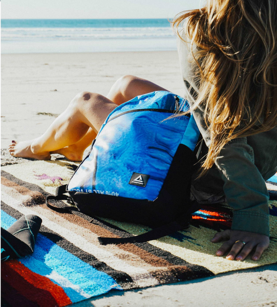 Billboard Summit Backpack | Upcycled, Recycled, Repurposed, Reimagined | Changing Tides
