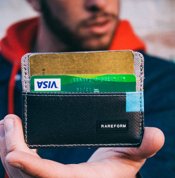 Billboard Cardholder | Upcycled, Recycled, Repurposed, Reimagined | Changing Tides