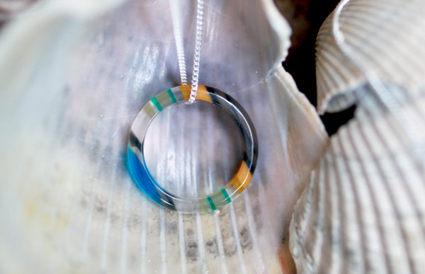 Surfboard Ring Necklace | Seeds for Kindness