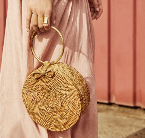 Woven Drum Bag | Upcycled, Recycled, Repurposed, Reimagined | Changing Tides