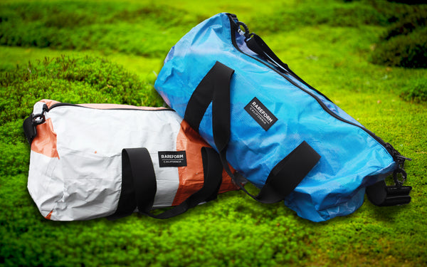 Billboard Duffle Bag | Upcycled, Recycled, Repurposed, Reimagined | Changing Tides