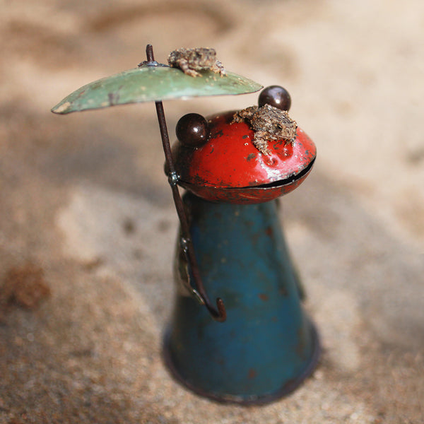 Recycled Frog Bottle Top | Upcycled, Recycled, Repurposed, Reimagined | Changing Tides