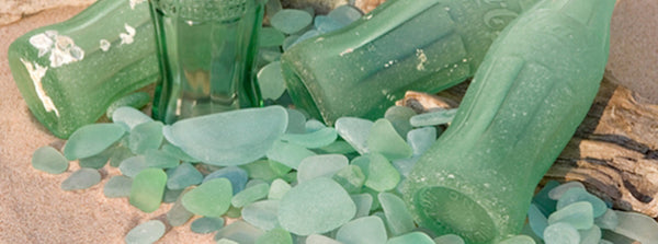 Sea Glass and Bottles | Seeds for Kindness