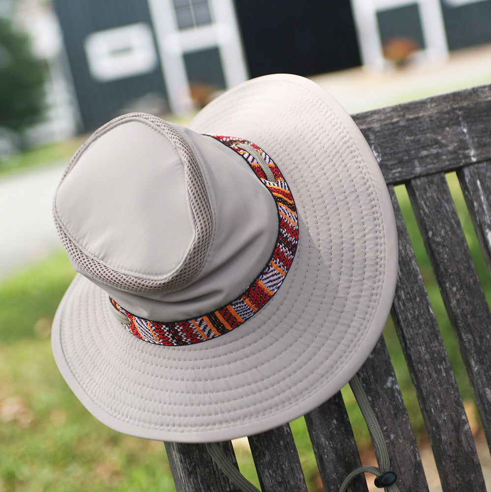 Aztec Boater Hat
