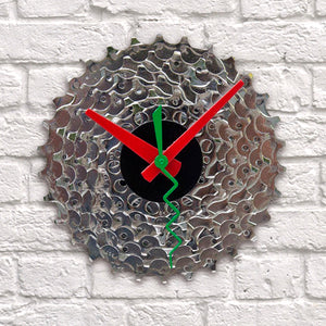 Clock - Bike Gear | Upcycled, Recycled, Repurposed, Reimagined | Seeds for Kindness