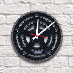 Clock: Black Bike Gear and Crank | Seeds for Kindness