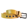 Firehose Yellow Belt  | Upcycled, Recycled, Repurposed, Reimagined | Changing Tides
