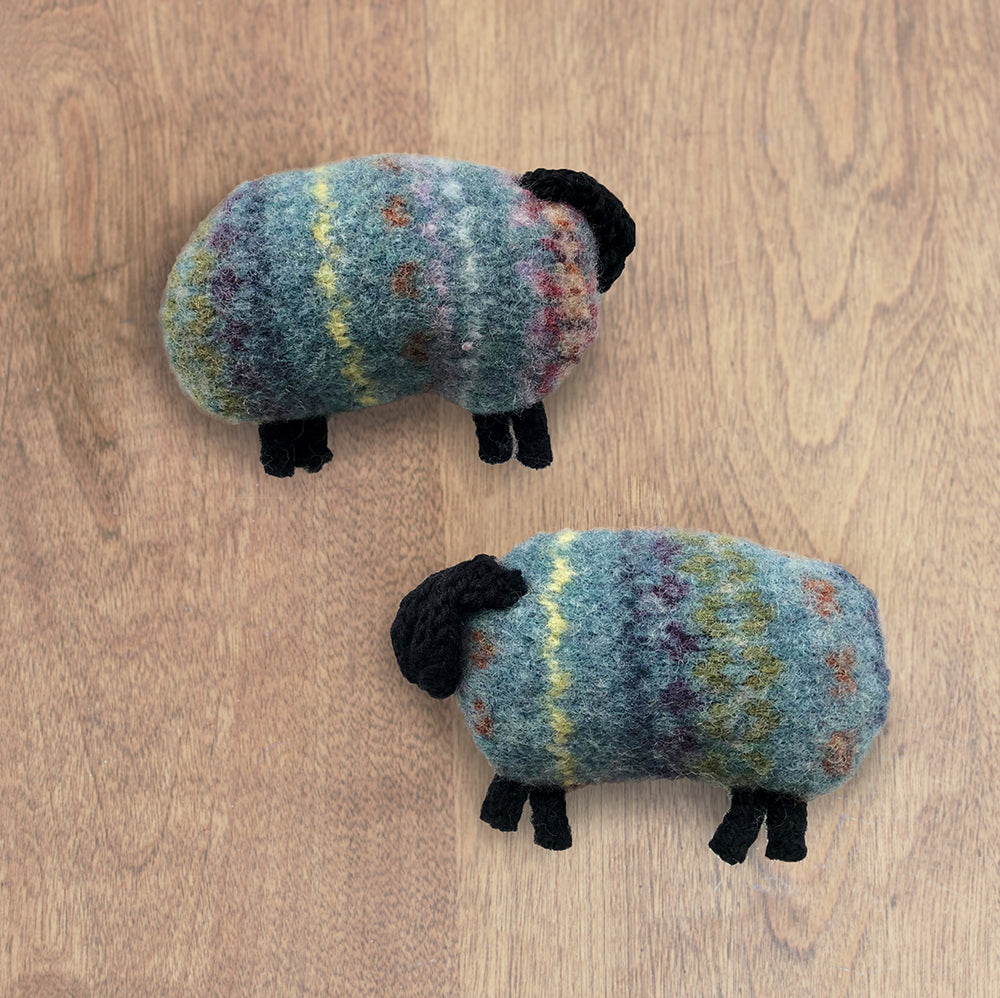 Sweater Sheep Handwarmers | Upcycled, Recycled, Repurposed, Reimagined | Changing Tides