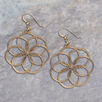 Rings of Peace Bronze Earrings | Upcycled, Recycled, Repurposed, Reimagined | Changing Tides