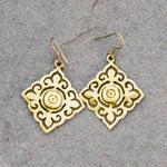 Cambodian Bullet Earrings | Upcycled, Repurposed, Reimagined: Seeds for Kindness