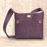 Cork Hailey Crossbody Bag  | Upcycled, Recycled, Repurposed, Reimagined | Changing Tides