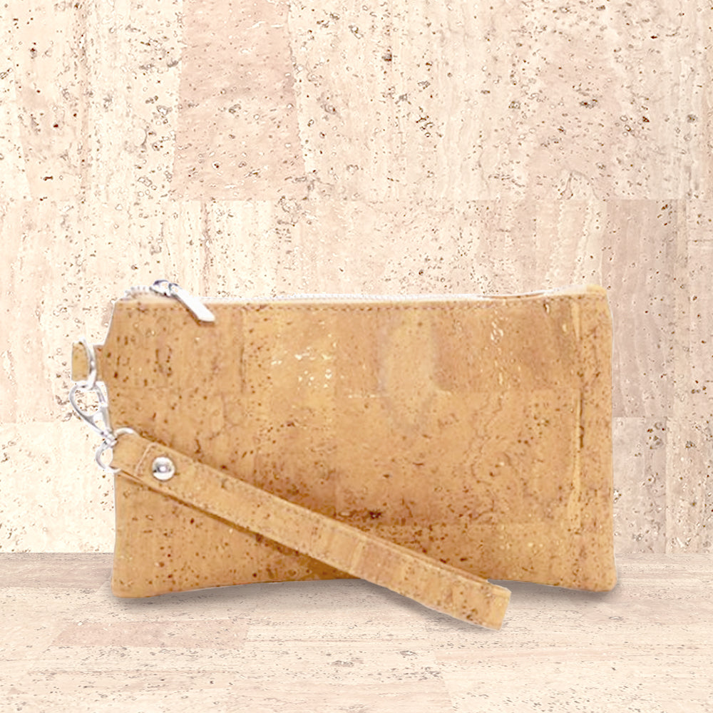 Cork Clarita Wristlet | Upcycled, Recycled, Repurposed, Reimagined | Seeds for Kindness