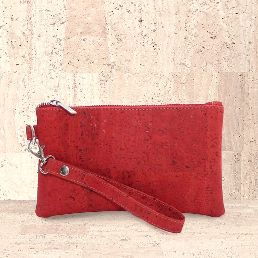 Cork Clarita Wristlet | Upcycled, Recycled, Repurposed, Reimagined | Changing Tides