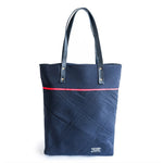 Delta Airlines Tote Bag | Upcycled, Recycled, Repurposed, Reimagined | Changing Tides
