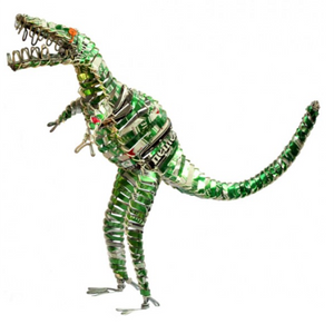 Can Animal Dinosaur | Upcycled, Repurposed, Reimagined | Seeds for Kindness