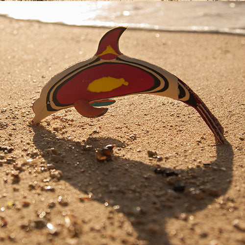 Flip-Flop Dolphin | Upcycled, Recycled, Repurposed, Reimagined | Changing Tides