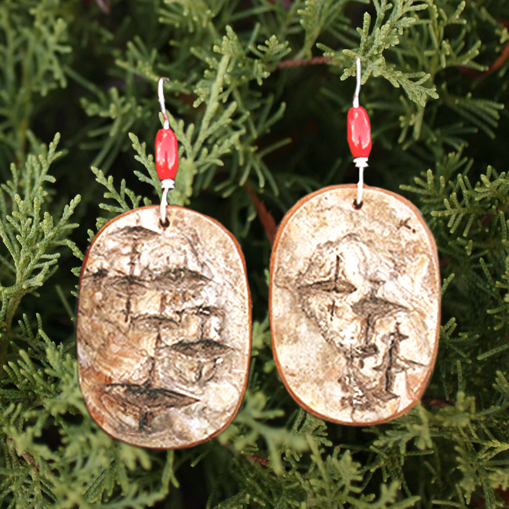 Birch Earrings - Medium